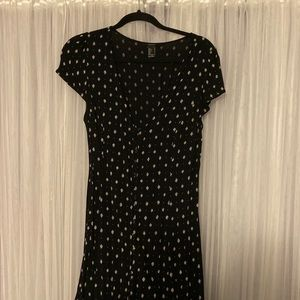 F21 High Low Button up Maxi - Size LG